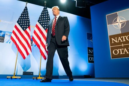 Trump Rattles Britain Hours After Unsettling NATO