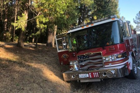 Man, woman steal fire truck, lead police on hours-long chase in California