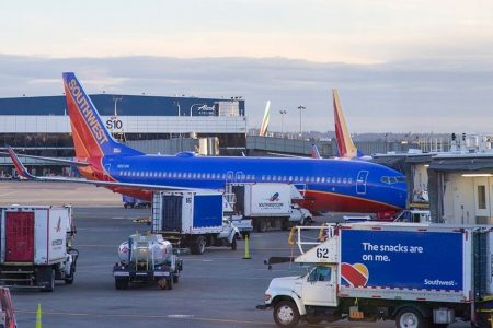 Southwest Airlines employee arrested for voyeurism