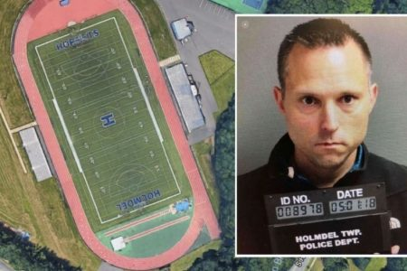 New Jersey superintendent accused of defecating daily on other school's track resigns, sues police for $1M