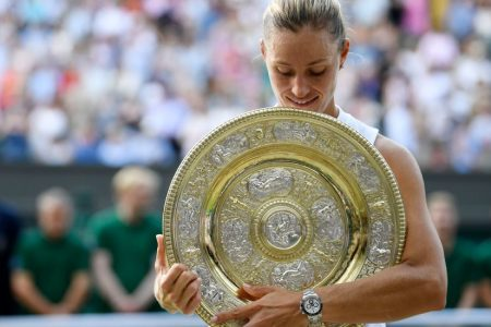 No Storybook Ending for Serena Williams. Instead, a Wimbledon Title for Angelique Kerber.