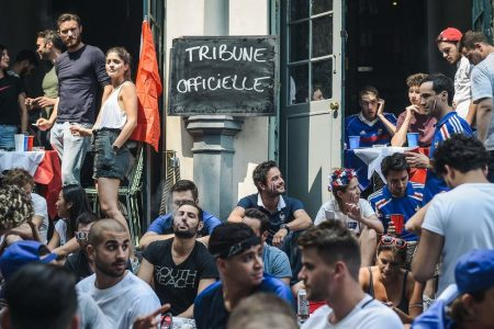 France Buoyant With Hope as Its Team Plays in World Cup Final