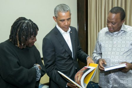 Obama Visits Kenya, Land of His Father, to Promote Local Charity