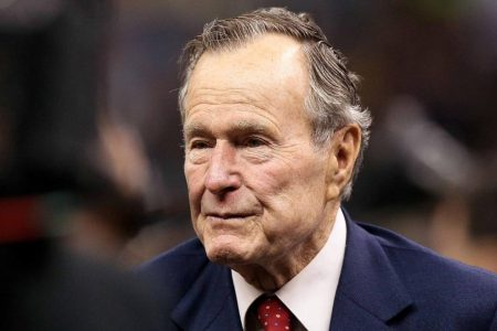 'Offensive' and 'uncalled for': George HW Bush defenders slam Trump