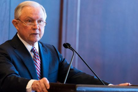 Judge strikes down law underpinning Sessions' anti-sanctuary city push