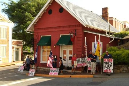 Red Hen — the restaurant that asked Sarah Sanders to leave — reopens amid protests