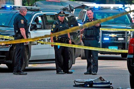 Police officer, bystander fatally shot near Boston