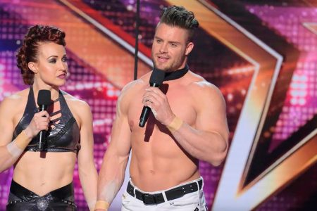 'America's Got Talent' contestant plunges to ground before audience