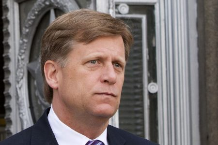 McFaul to meet with US officials about possible indictment from Russia