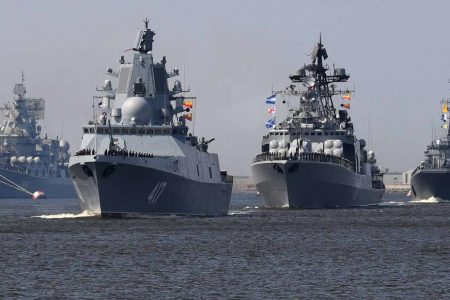 Russia's navy parade: Big show but how much substance?