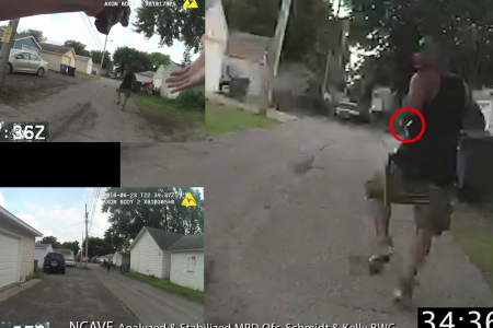 Minneapolis police release bodycam videos in fatal shooting of black man
