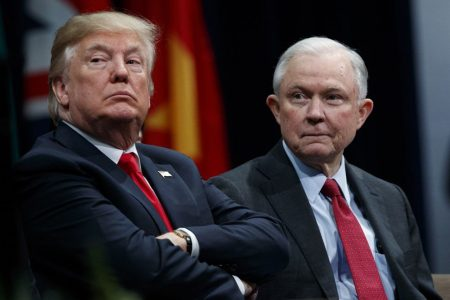Attorney General Sessions: 'Lock her up'