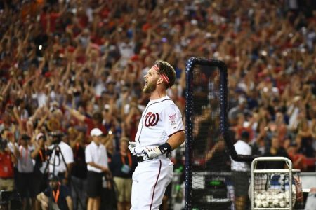 At the Home Run Derby, Bryce Harper and DC fell back in love — at least for one night
