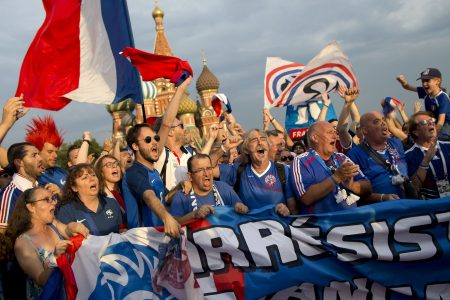 Live stream: Fans arrive at Moscow stadium ahead of World Cup Final between France and Croatia