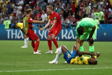 Belgium leaves Brazil reeling and raving, another World Cup giant on the side of the road