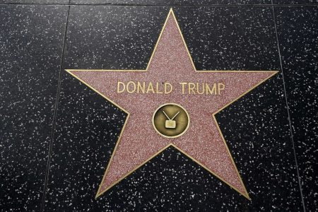 Someone took a pickax to Trump's Hollywood star and shattered it — again