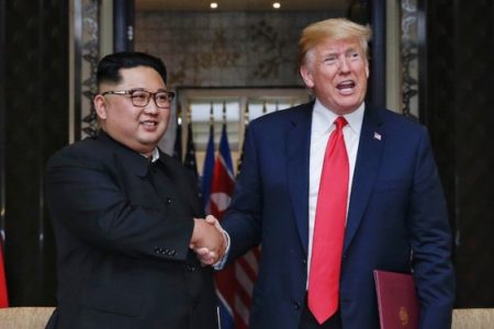 Trump says the US would be at war with North Korea by now if it weren't for him