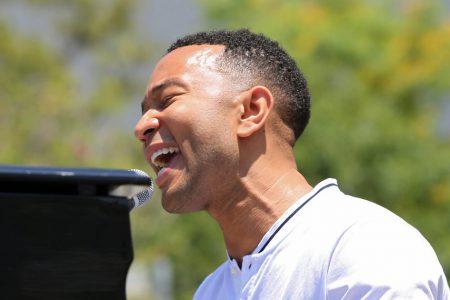 John Legend Debuts Heartfelt Song 'Preach' At Immigration Rally