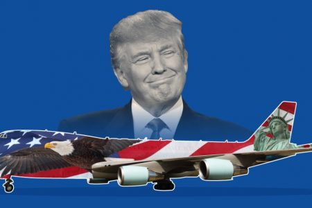 Trump reportedly wants to repaint Air Force One to look 'more American'