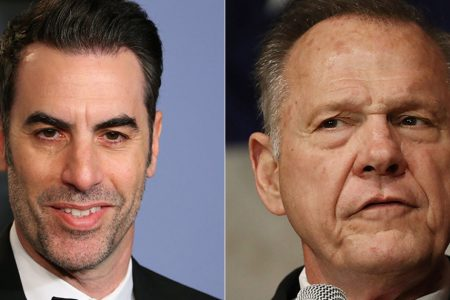 Roy Moore Vows To Defend America From Sacha Baron Cohen