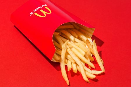 McDonald's is giving away free fries. Here's how to get some.