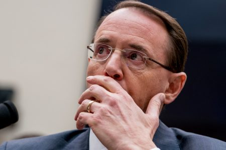Republican lawmakers introduce articles of impeachment against Rod Rosenstein