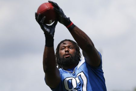 Ex-Detroit Lion Brandon Pettigrew arrested after punching police officer, per report