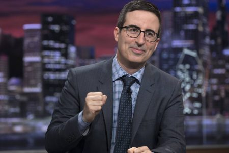 John Oliver tackles sexual harassment, Les Moonves with help from Anita Hill