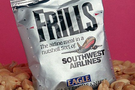 Today is the last day Southwest Airlines is serving peanuts