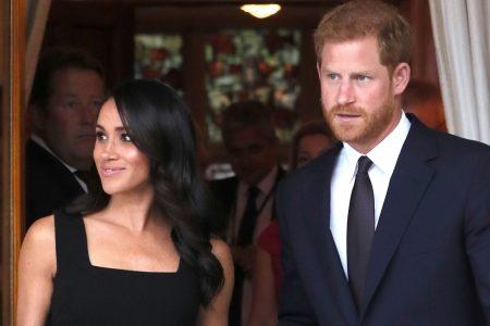 Duchess Meghan, Prince Harry in Ireland: Meghan wears sleek black dress to garden party