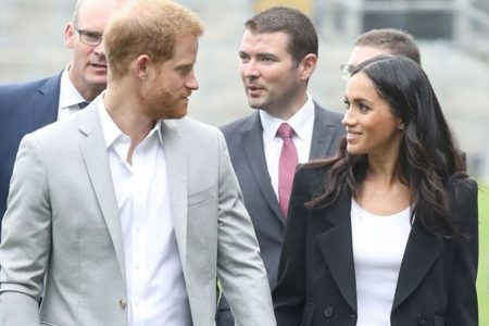 Duchess Meghan and Prince Harry sample Dublin's charms; Meghan shows off two new outfits