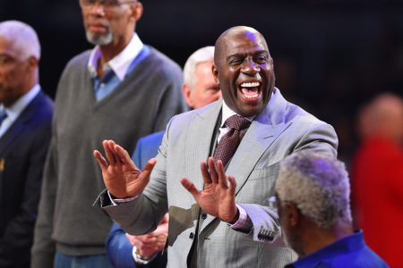 Magic Johnson reveals details about meeting that sealed LeBron James to the Lakers