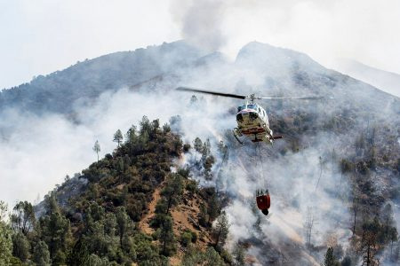 California firefighter dies while battling blaze near Yosemite National Park