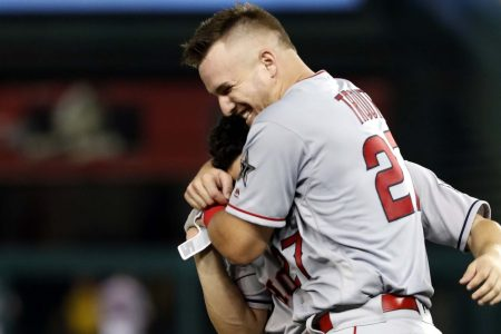 Mike Trout once again shines in MLB All-Star Game