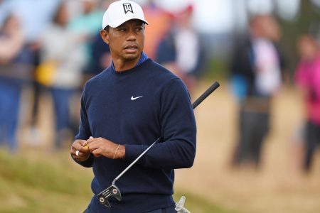 Tracking Tiger: Follow Tiger Woods' first round shot-by-shot at The Open Championship