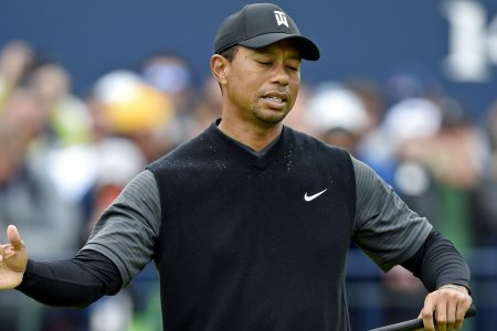 Tiger Woods even through two rounds at British Open but could be much better