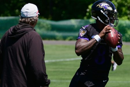 Ravens already trying rookie QB Lamar Jackson at slot receiver