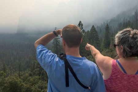 Wildfire smoke ruining vacation, business for thousands at Yosemite National Park