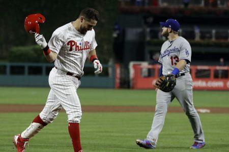 Trevor Plouffe ends Phillies-Dodgers marathon with 16th inning homer off Kiké Hernandez