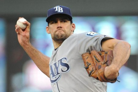 Red Sox acquire hard-throwing Nathan Eovaldi as battle with Yankees moves to trade market