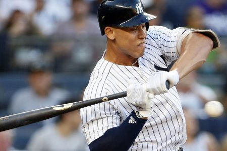 Yankees slugger Aaron Judge suffers fractured wrist