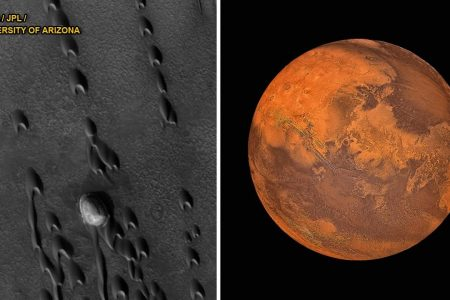 Why Mars appears to be moving backward