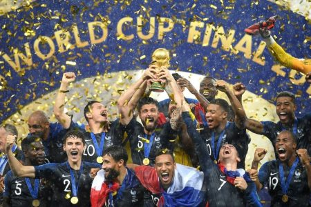 France caps a frenetic and fabulous World Cup by blazing past Croatia for the title