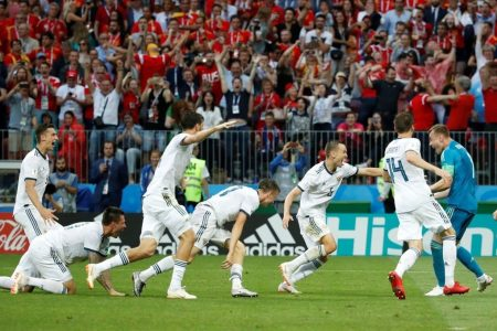 Russia goes into the bunker vs. Spain, and emerges with a huge World Cup upset