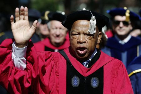 Civil rights hero Rep. John Lewis released from hospital after in-flight emergency