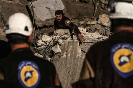 International operation evacuates White Helmets rescue workers from Syria