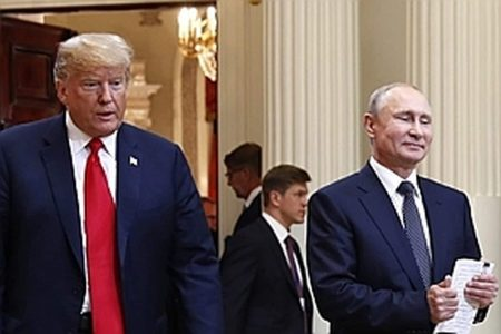 Trump chairs election security meeting but gives no new orders to repel Russian interference
