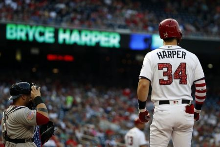 Scott Boras says shifts are partly why Bryce Harper isn't enjoying a typical Harper season