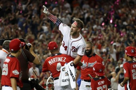 Dave Martinez says Bryce Harper has told him 'numerous times' he wants to play in DC