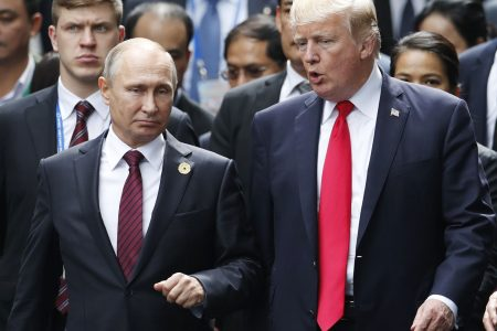 'I hadn't thought' of asking Putin to extradite indicted Russian agents, Trump says
